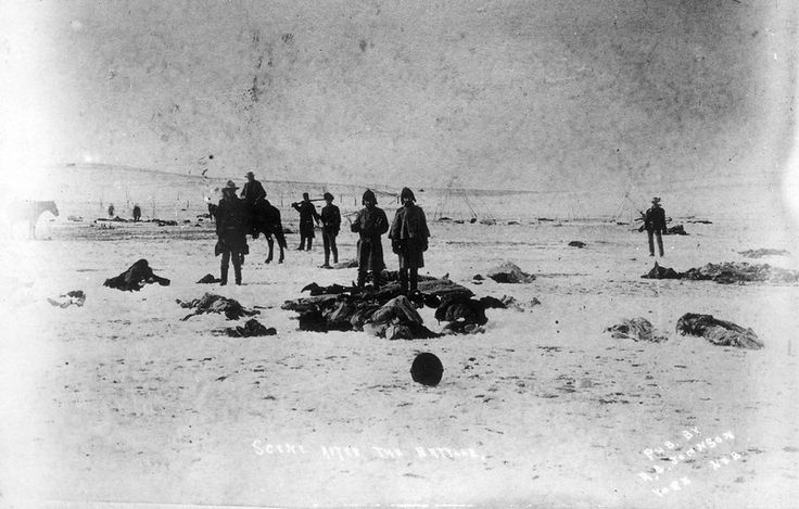 an introduction to the native american history at wounded knee creek And close to 300 native americans were murdered near wounded knee creek in of the wounded knee years of native american history from a bottom.