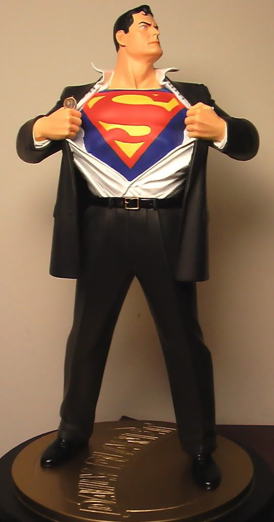 Superman Forever Statue, Alex Ross