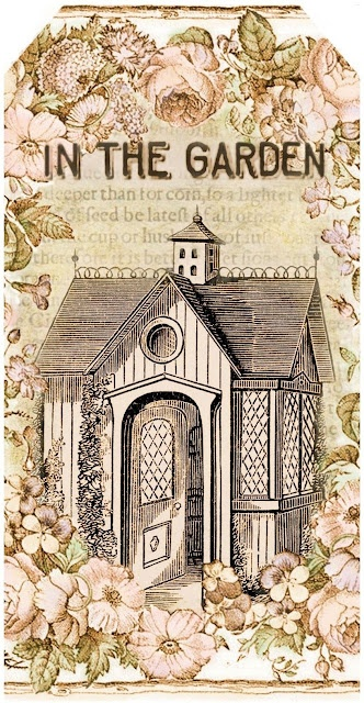In the Garden ~ gift tags | Lilac & Lavender