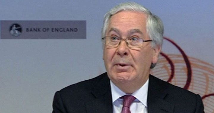 10 Golden Quotes from Sir Mervyn King