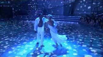 Abbey Clancy & Aljaz Skorjanec Waltz to 'Kissing You' - Strictly Come…