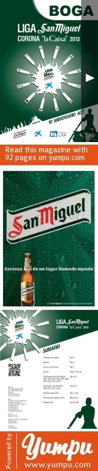 BOGA 2013.pdf-BOGA. Revista oficial de la Liga San Miguel de remo. Temporada 2013