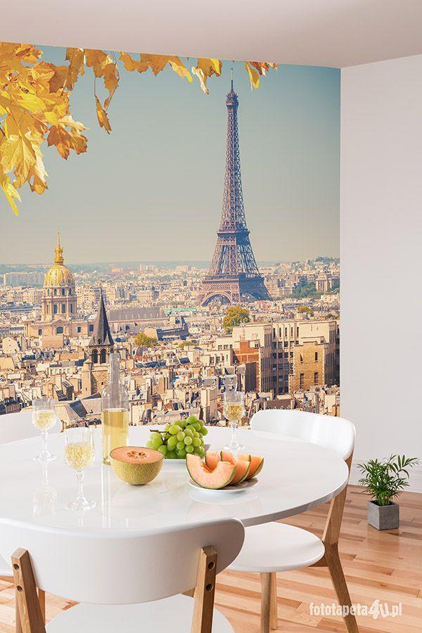 Paris wallpaper by Fototapeta4u.pl