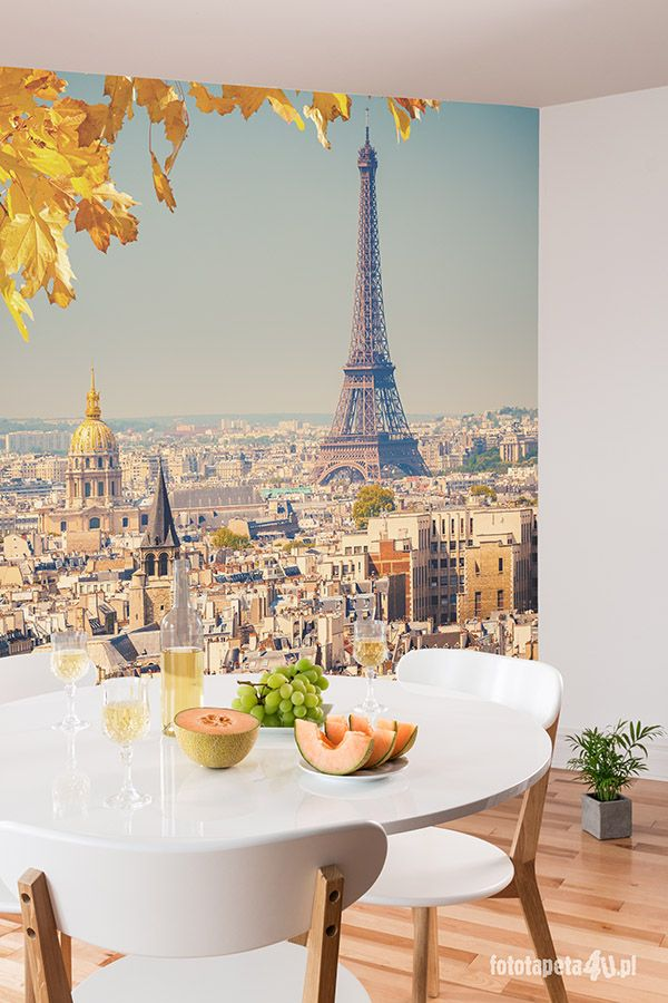 Paris wallpaper by Fototapeta4u.pl