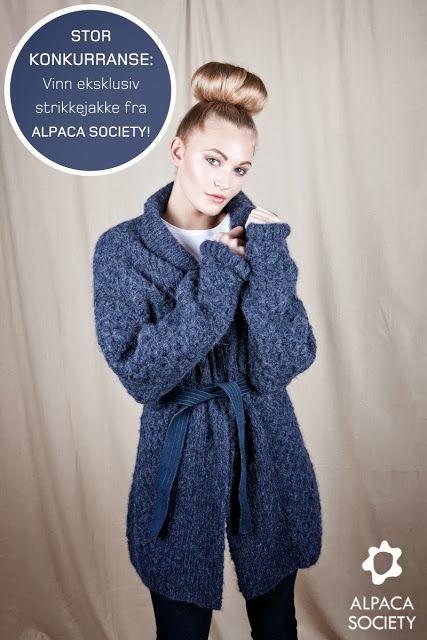 Alpaca society jakke, fås bl.a. hos Daisy
