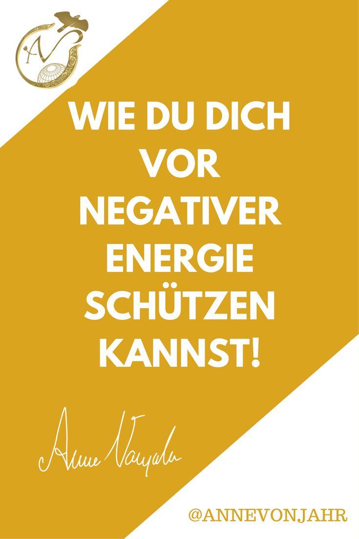 Negative Energien ziehen Dich runter? Dann hilft dir dieses kurze Video bestimmt weiter :)