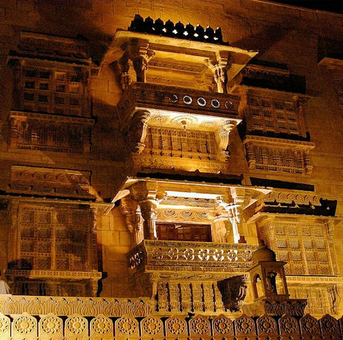 Narain Niwas Palace 19th C Our Heritage Hotel In Jaisalmer Rajasthan