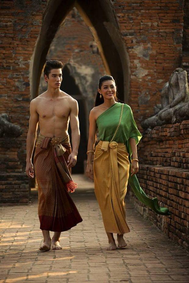 ร.1 Thai Style Thai costume Thai girl Siam Dress Thai traditional costume Siam…