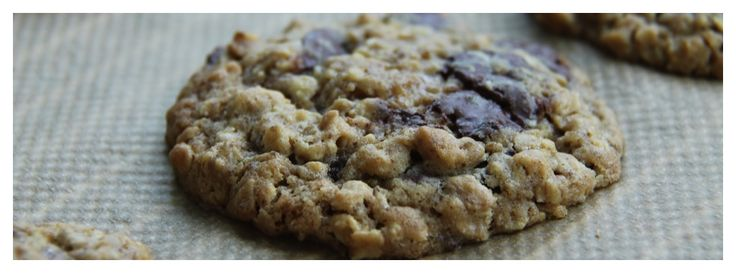 Havermout, chocolade koekjes
