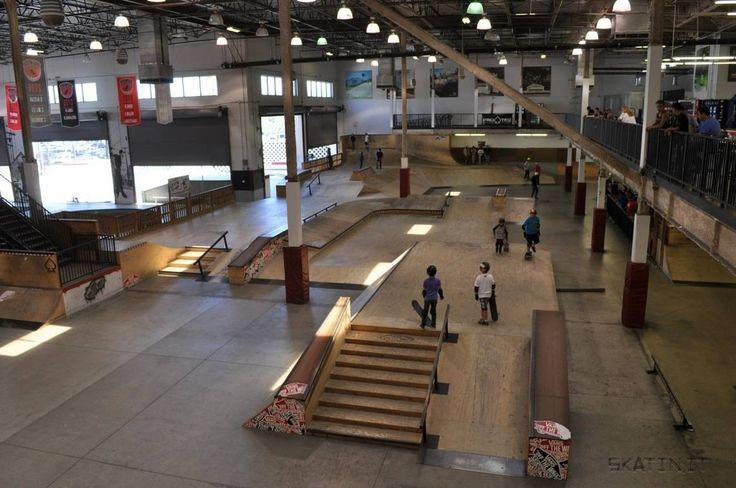 vans skatepark orange