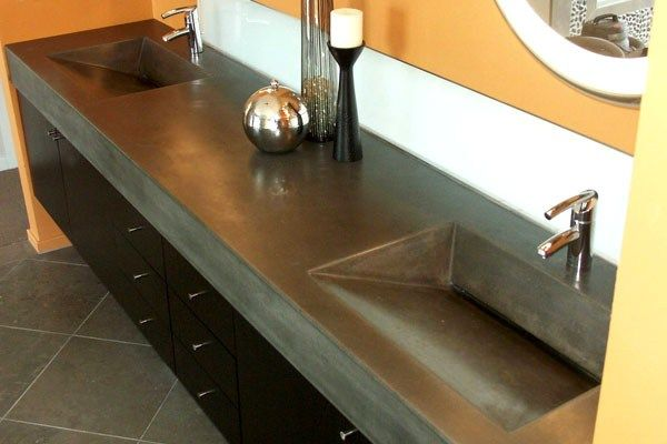 ******Modern ,slate Concrete Sinks Ace Construction Milpitas, CA