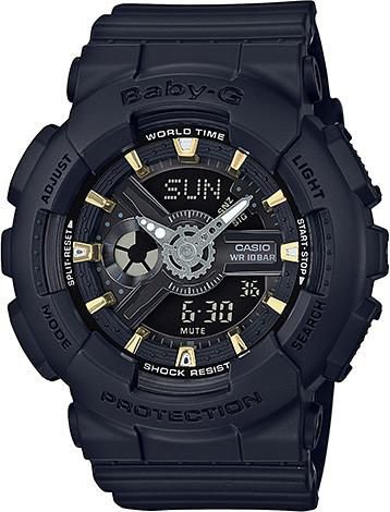 Casio Ladies Baby-G Matte x Metallic Series Watch BA-110GA-1A (BA110GA1A) - Watch Centre