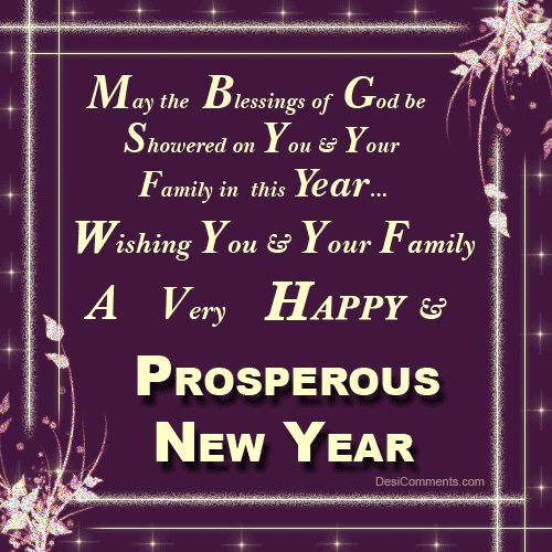 Christian New Year Wishes - Happy New Year (shared via SlingPic)