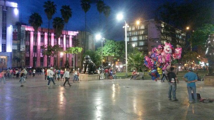 Parque de Las gordas de Botero