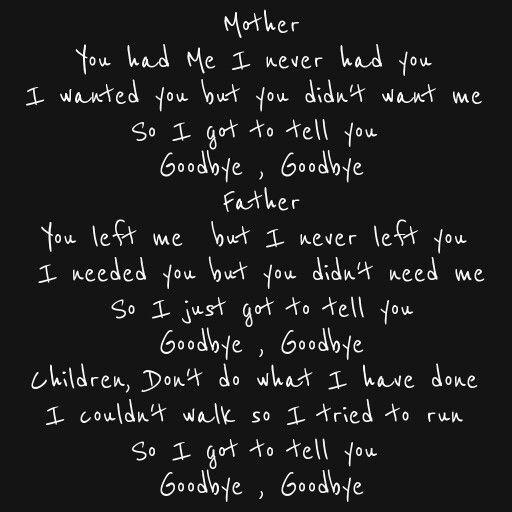 ~Mother, John Lennon ); very sad