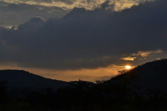 Awesome sunset @ Pilansberg
