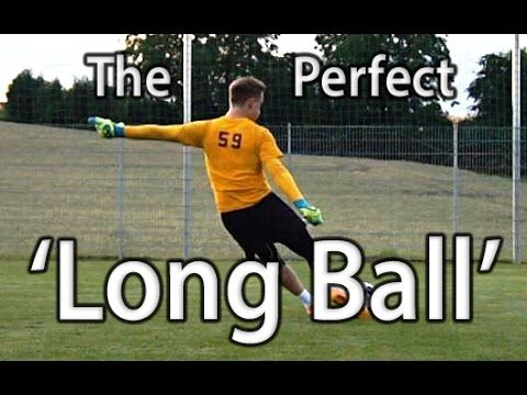 Long Ball | Goal Kick | Goalkeeper Technique | Virtual Goalkeeper Coaching | GKeeping - YouTube