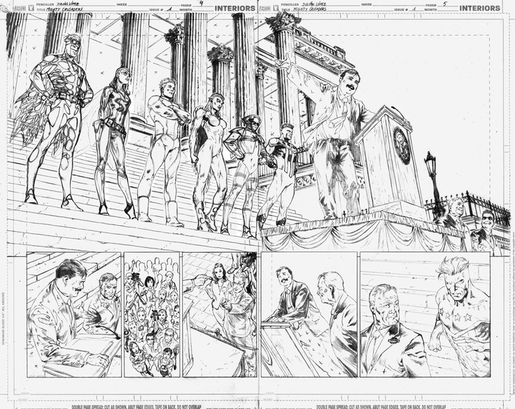 """Mighty Crusader #1"" pages_04 & 05"