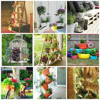 17 migliori idee fai da te per il giardino su pinterest - Fai da te arredo giardino ...