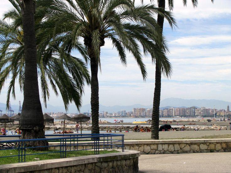 RESTAURANT VIEW - Playa de Pedregalejo, Malaga, Spain