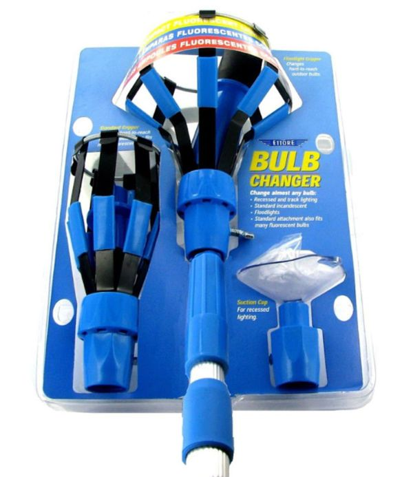 The Ettore Bulb Changer Kit Is Perfect For Those Hard To Reach Spaces And Is Available On Amazon With Or Without Pole Note Standar Bulb Pole Extension Pole
