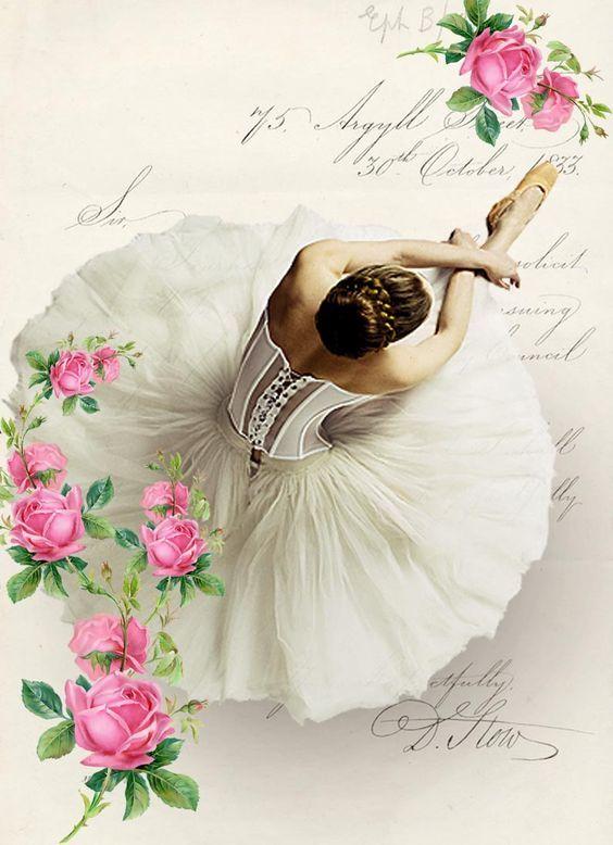 Медведев картинки, открытки винтажные балерины