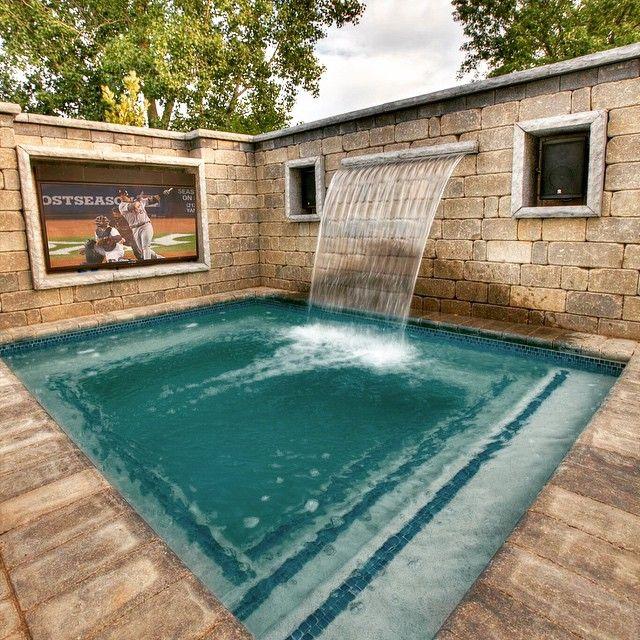 custom gunite spa by ventures design pools spas pinterest spa and pool spa