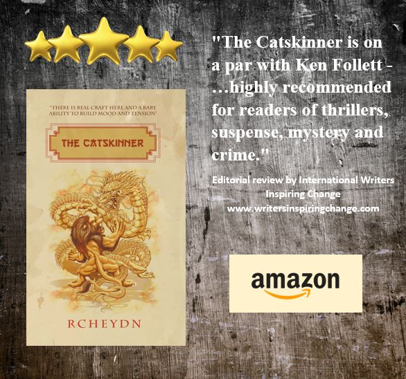 The Catskinner, by Ross Clarke, (pen-name rcheydn) is a novel on apar with Ken Follett. In this story, Hong Kong is on the cusp of passing legislation that will change the course of its history, a…