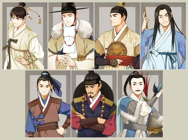 Lang Ya Bang in Hanbok by Glimja.deviantart.com on @DeviantArt