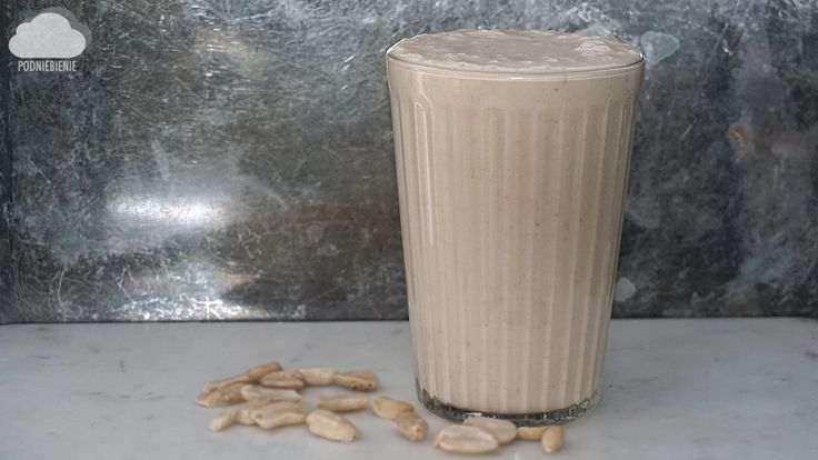 SMOOTHIE MASŁO ORZECHOWE – PodNiebienie #blogkulinarny #PodNiebienie #masłoorzechowe #koktajl #pinutbutter #smoothie #beforeworkout #fitfood #fit #cleanse #cleaneating