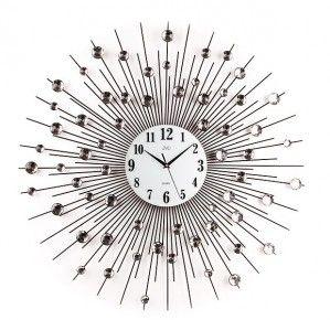 #Clock #JVD Zegar ścienny design HJ21 - Jasněna Vláhová Design