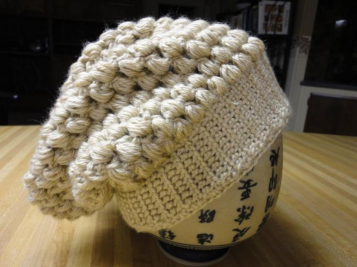Crocheting Ideas | Project on Craftsy: Slouchy Hat