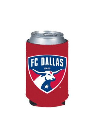 FC Dallas Red Can Koozie