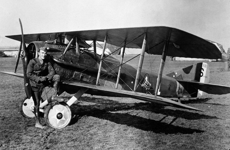 70th anniversary of the US Air Force - It was the 'Great War' that saw ace aviators such as Eddie Rickenbacker (pictured), fly fixed-wing aircraft to attack targets on the ground with surgical precision or engage enemy airplanes to claim aerial supremacy.