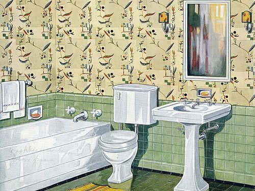 Best 25 1930s bathroom ideas only on pinterest 1930s for Salle de bain 1930