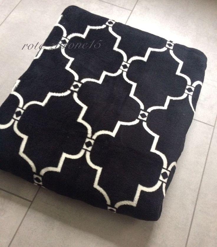 Microfaser Decke Gittermuster Quattefoil Plaid Ouilt Bettüberwurf Sofa Bett Neu  | eBay