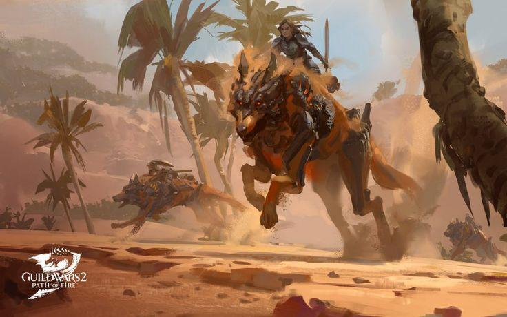 Uma das características surpreendentes que  Guild Wars 2  tem faltado há algum tempo são montagens. Uma característica que a maioria dos MMO modernos (e alguns mais antigos), como  Final Fantasy XIV  e  World of Warcraft tem sido solicitada e desejada por muito tempo da sua comunidade dedicada.
