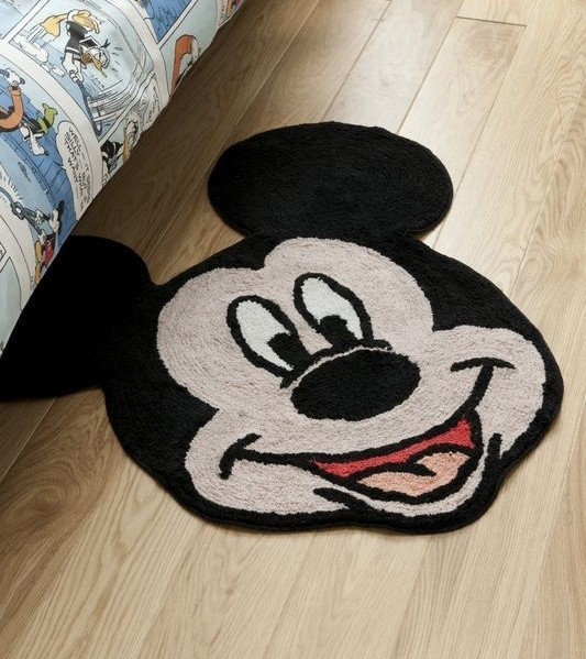 Disney Mickey Mouse Rug Always A Smiley Face In The Morning