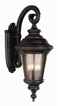 Trans Globe 5045 RT Estate Rust Outdoor Wall Sconce by Trans Globe. $211.56. Finish:Rust, Size:Large, Light Bulb:(4)60w B10 Cand C Incand   Upgrade your outdoor environment with this traditional fixture inspired by Victorian art.. Save 45% Off!