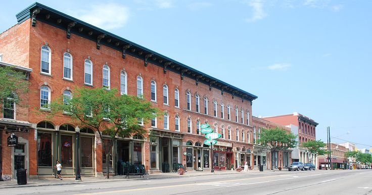 Howell Downtown Historic District in Livingston County, Michigan.