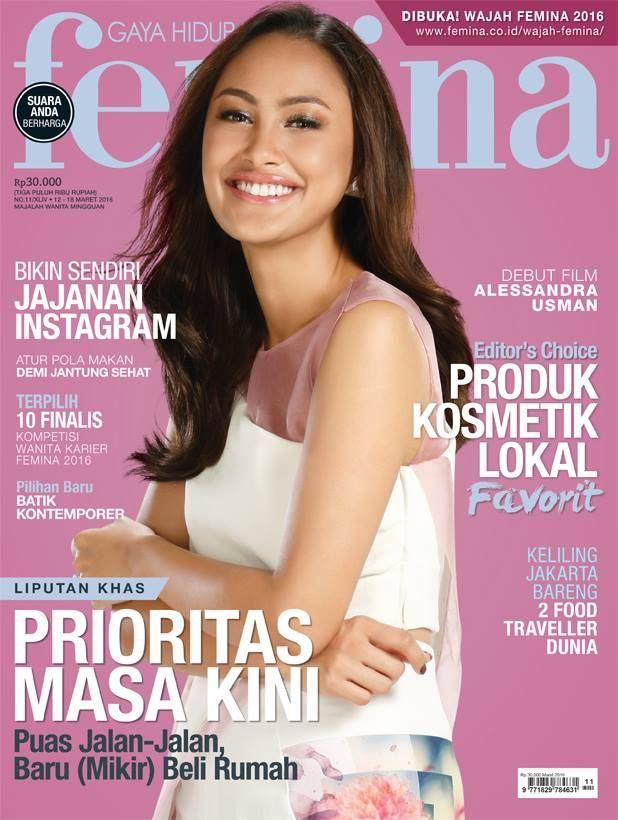 Femina 12 - 18 Maret 2016 #buku #majalah #sewabuku #sewamajalah #perpustakaan