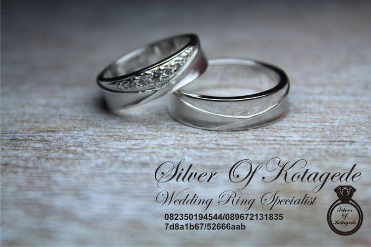 cincin nikah platinum dan emas putih