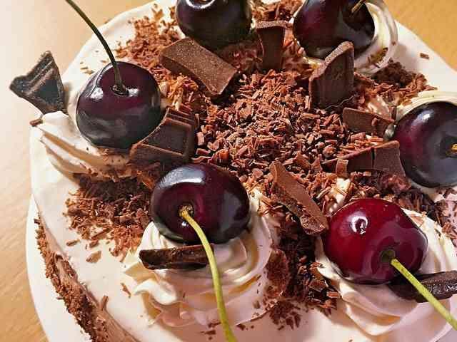 糖質制限◆キルシュトルテ*フォレノワールの画像