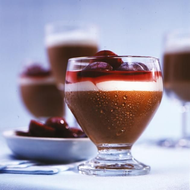 Latte-Macchiato-Mousse Rezept