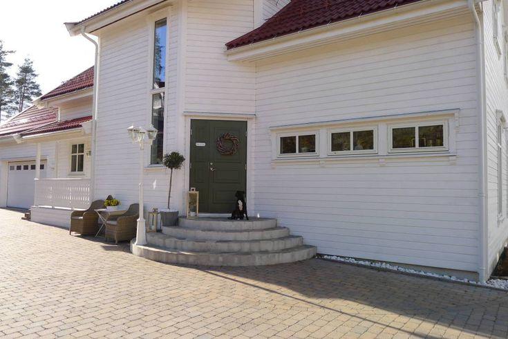 villa von krogh fasade dør