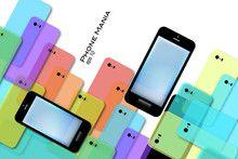 #Phone Mania #Vector #Illustration #smartPhone
