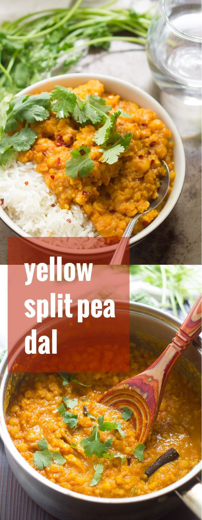 This flavorful and warming Afghan-inspired split pea dal is made with creamy yellow split peas simmered in ginger and toasty spices.