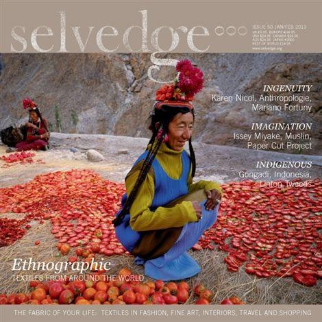 50 Ethnographic - Selvedge