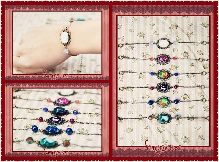Handmade vintage style bracelets