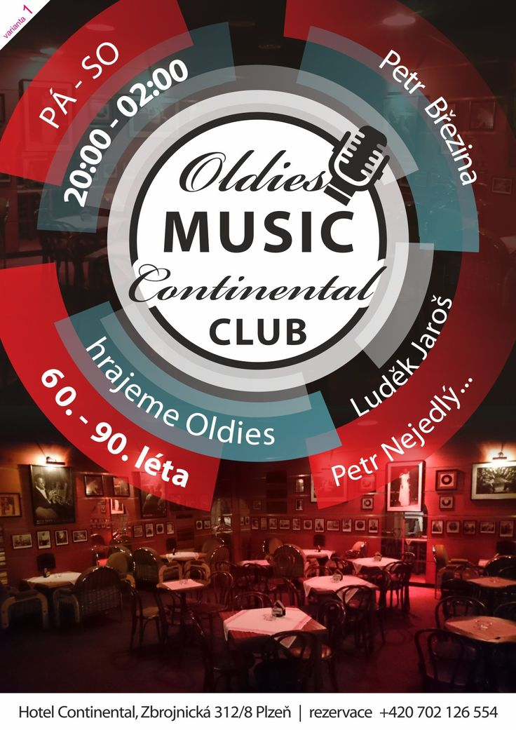 Oldies Disco v hotelu Continental